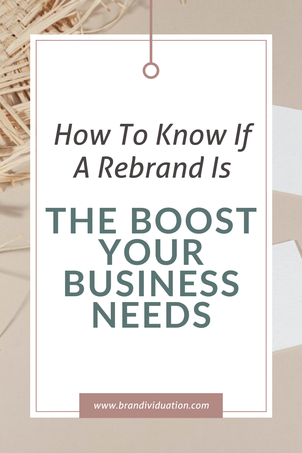 How To Know If A Rebrand Is The Boost Your Business Needs